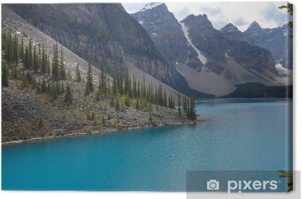 Leinwandbild See-Moraine, Kanada - Wasser