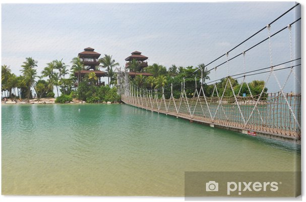 Leinwandbild Sentosa Island, Singapur - Themen