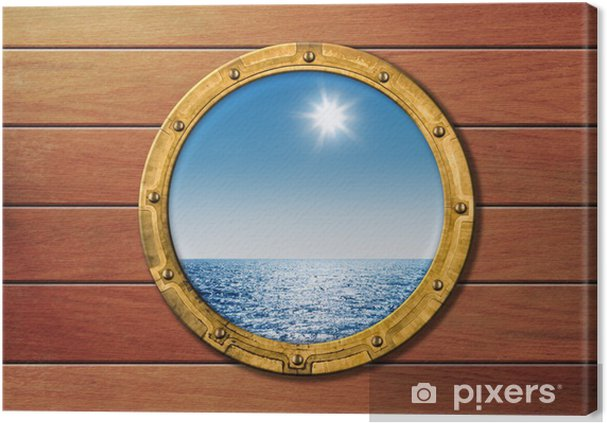 Leinwandbild SHIP Bullauge - Boote