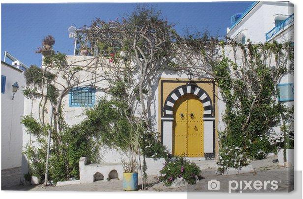 Leinwandbild Sidi Bou Said, Tunesien - Urlaub