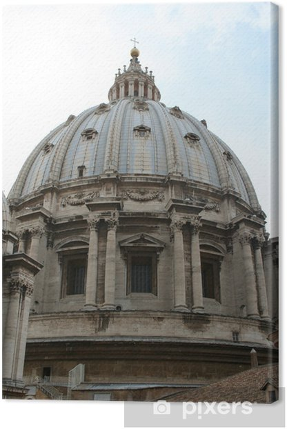 Leinwandbild Sie Vatikan - Europäische Städte