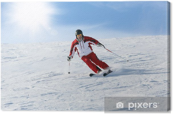 Leinwandbild Ski - Wintersport