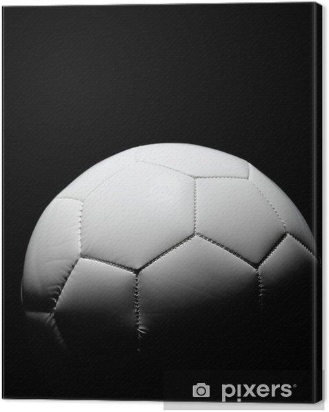 Leinwandbild Soccerball -
