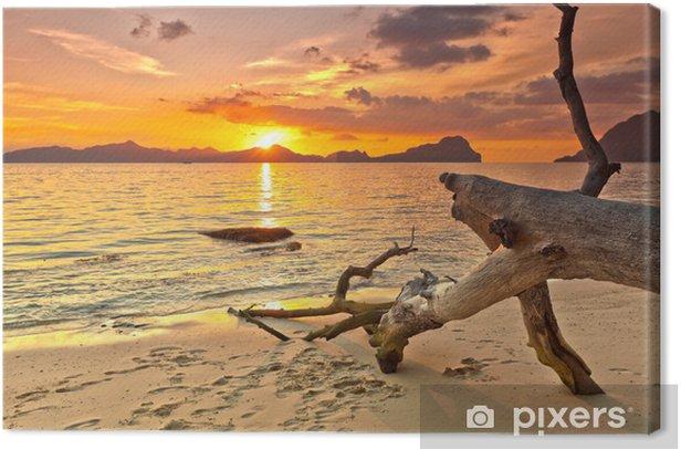 Leinwandbild Sonnenuntergang - Themen