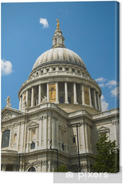 Leinwandbild St.Pauls 's Cathedral Dome - Urlaub