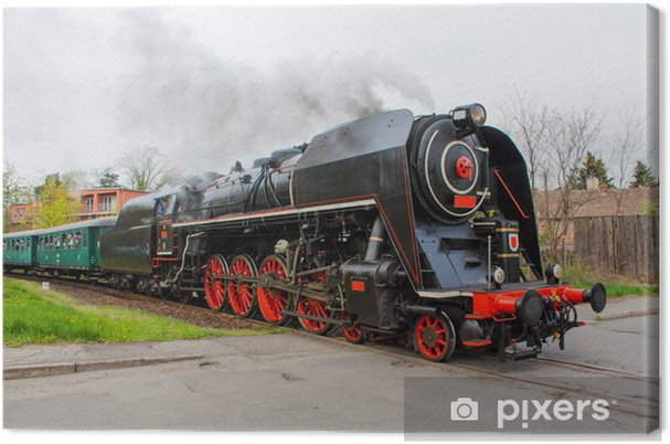 Leinwandbild Steam train - Themen