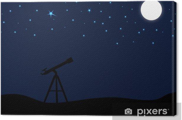Leinwandbild Sternengucker - Zeit