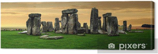 Leinwandbild Stonehenge Ruinen - Europa