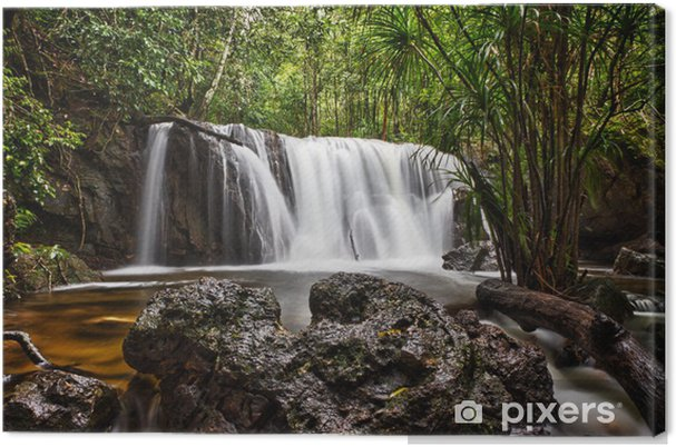 Leinwandbild Suoi Tranh Wasserfall in Phu Quoc, Vietnam - Asien