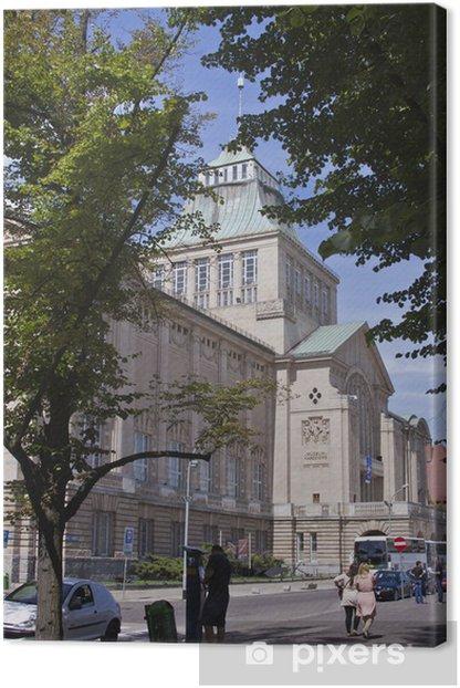 Leinwandbild Szczecin Naval Museum 2 - Themen