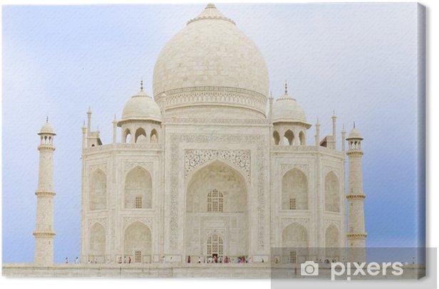 Leinwandbild Taj Mahal, Agra (Indien), una de las Maravillas 7 del mundo. - Urlaub