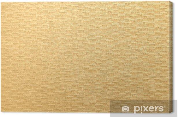 Leinwandbild Tan Papierbeschaffenheit - Zeichen und Symbole