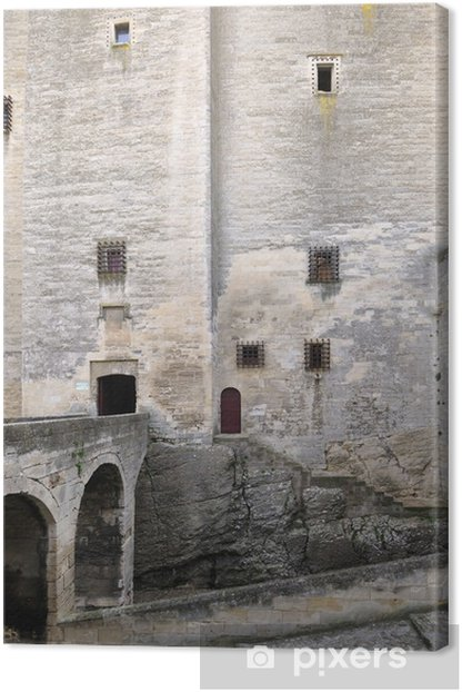 Leinwandbild Tarascon, Schloss, König René - Denkmäler