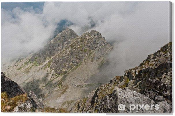Leinwandbild Tatra Kościelec - Themen