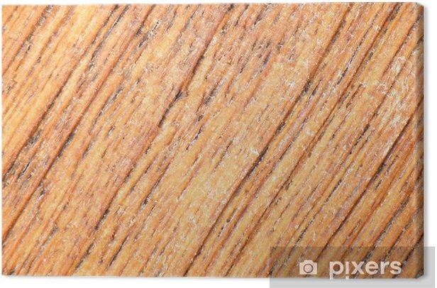 Leinwandbild Teak Holz - Texturen
