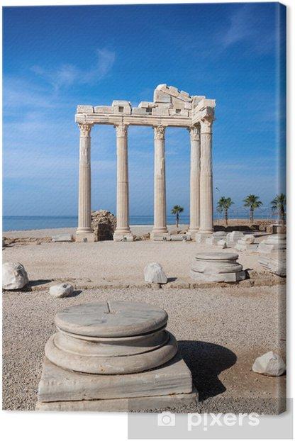 Leinwandbild Temple of Apollo Ruinen in Side Türkei. - Naher Osten