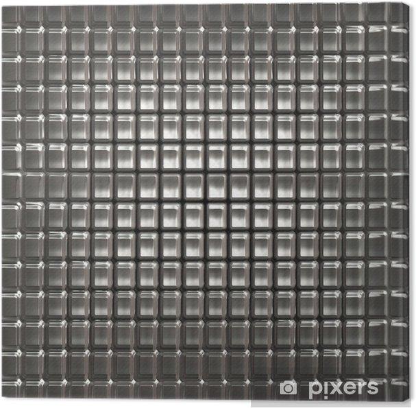 Leinwandbild Textur aus Metall -