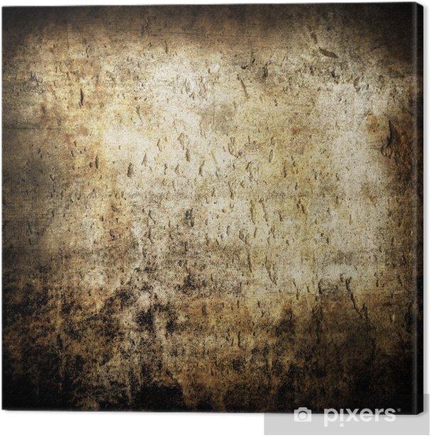 Leinwandbild Textur Grunge muro - Themen