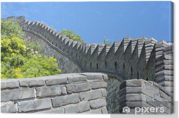 Leinwandbild The Great Wall of China - Asien