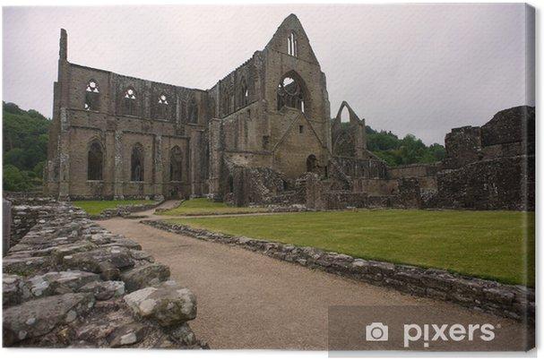 Leinwandbild Tintern Abbey - Öffentliche Gebäude