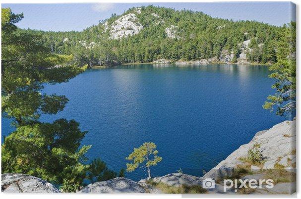 Leinwandbild Topaz Lake, Killarney - Jahreszeiten
