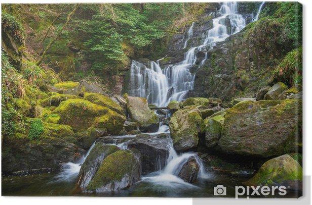 Leinwandbild Torc Wasserfall im Killarney Nationalpark, Irland - Europa