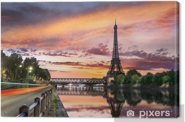 Leinwandbild Tour eiffel paris - Themen