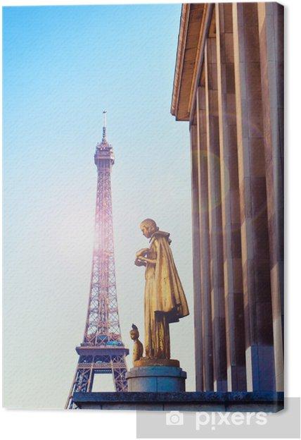 Leinwandbild Tower eiffel paris - Europa