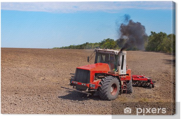 Leinwandbild Traktor - Landwirtschaft