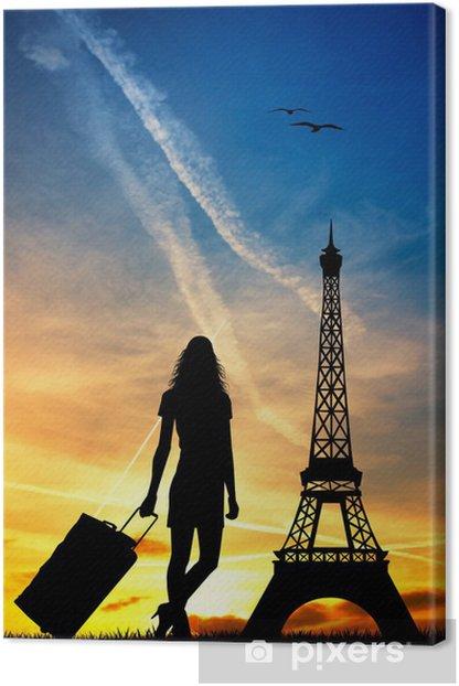 Leinwandbild Trip to Paris - Europäische Städte
