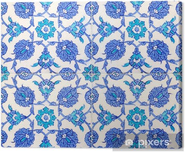 Leinwandbild Turkish tiles - Fliesen