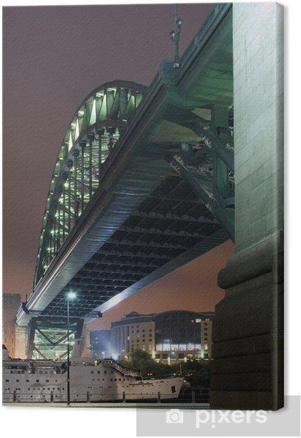 Leinwandbild Under the Bridge - Infrastruktur