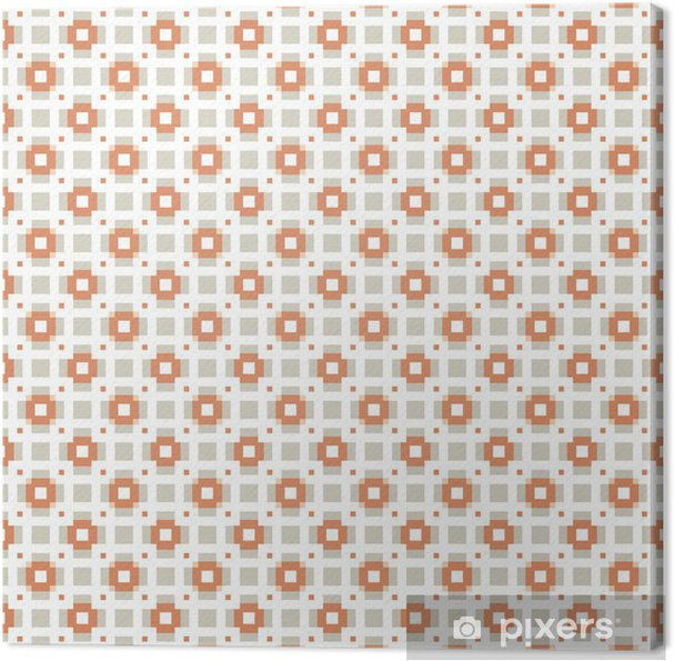 Leinwandbild Vektor nahtlose Muster. Wiederholenden geometrischen Fliesen mit Quadraten - Sales