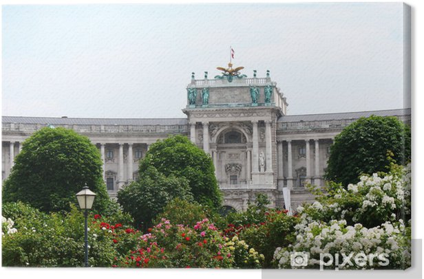 Leinwandbild Vena.Hofburg - Europäische Städte
