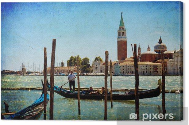 Leinwandbild Venedig, Blick auf San Giorgio stieg von San Marco. - Themen