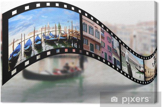 Leinwandbild Venedig Blick - Europäische Städte