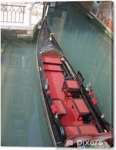 Leinwandbild Venetian Gondola - Boote