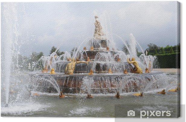 Leinwandbild Versailles, Bassin de Latone - Urlaub