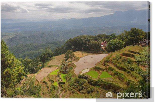 Leinwandbild Village of Limbong - Asien
