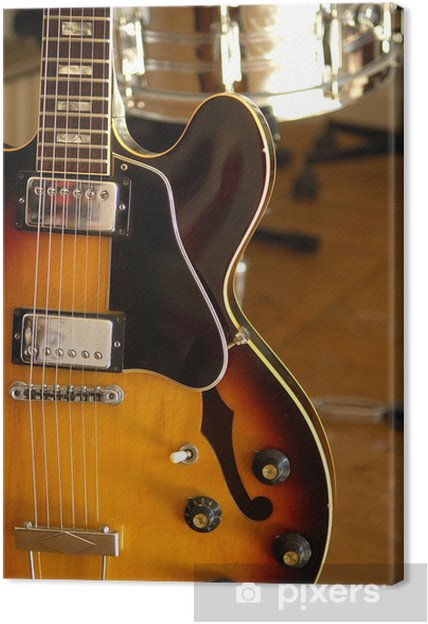 Leinwandbild Vintage electric guitar 6 - Themen