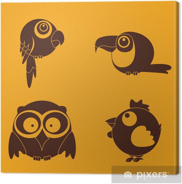 Leinwandbild Vögel - Vögel