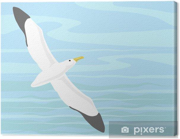 Leinwandbild Wanderalbatros - Vögel