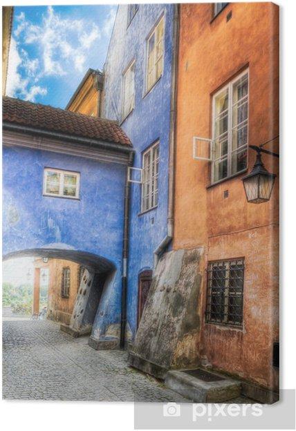 Leinwandbild Warschau - Altstadt - Themen