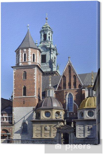 Leinwandbild Wawel-Kathedrale in Krakau, Polen - Europa