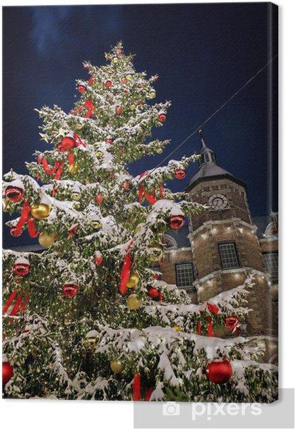 Weihnachtsbaum Weihnachten.Leinwandbild Weihnachtsbaum Weihnachten Düsseldorf