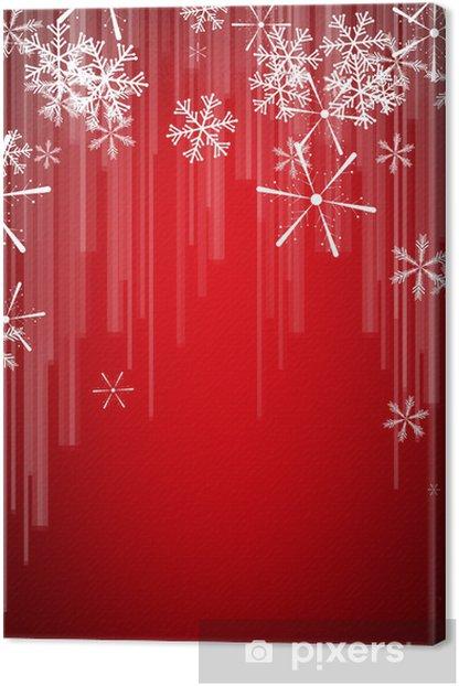 Leinwandbild Weihnachtskarte - Internationale Feste