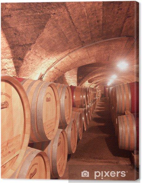Leinwandbild Wein - Criteo