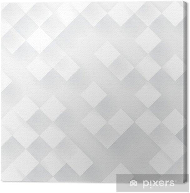 Leinwandbild Weiß Geometrie Vektor Hintergrund. - Hintergründe