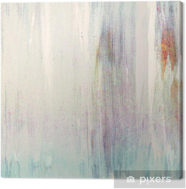 Leinwandbild Weiß-Malerei - Kunst und Gestaltung