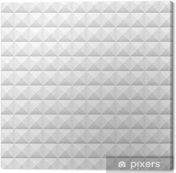 Gut gemocht Leinwandbild Weiße Fliesen, Quadrate, Vektor-Illustration EU89
